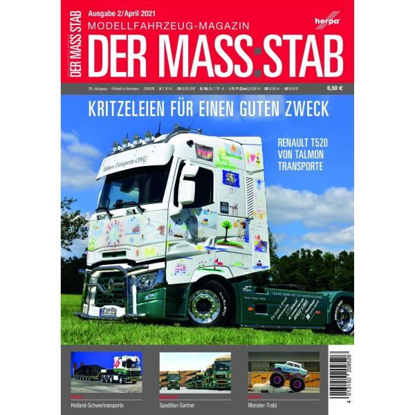 """209526 - Herpa - Magazin """"Der Mass:stab"""" 2/2021"""