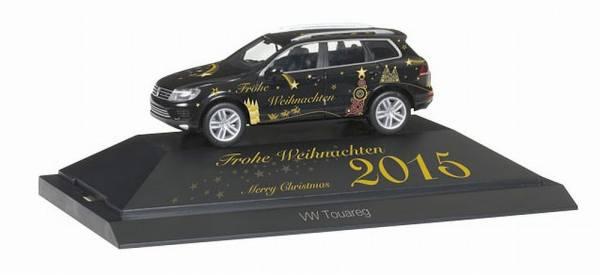 """101950 - Herpa - VW Touareg """"Weihnachten 2015""""  PC"""