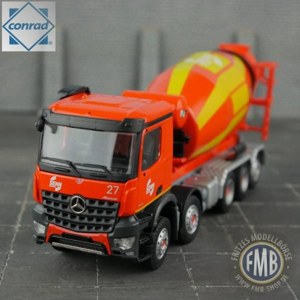 78240/0 - Conrad - Mercedes-Benz Arocs 5achs Betonmischer - Schwing-Stetter / Senn AG