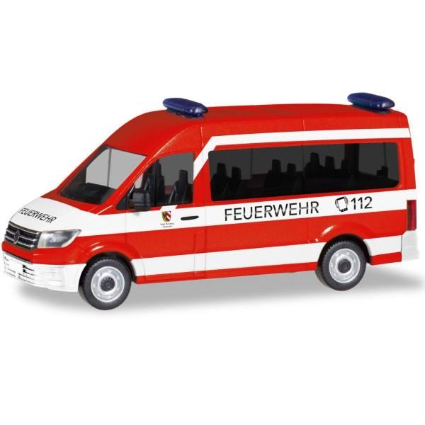 """095013 - Herpa - VW Crafter `16 Bus Hochdach MTW """"Feuerwehr Nürnberg-Neunhof"""""""