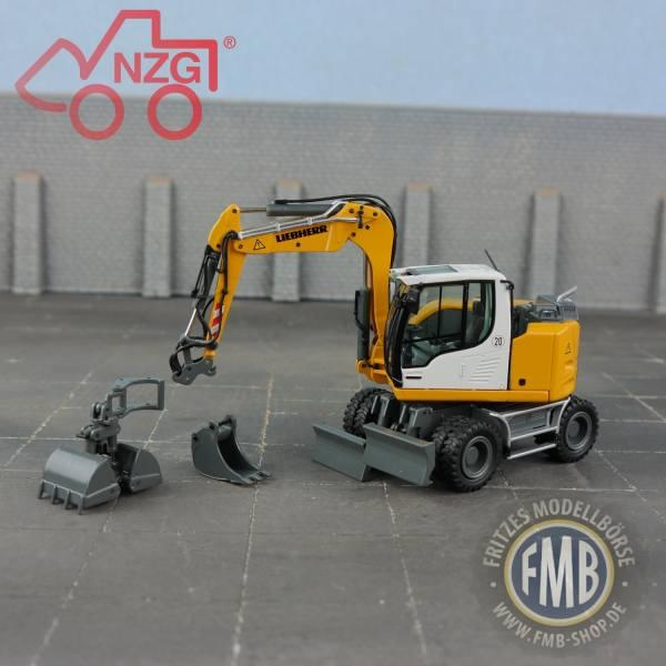 1000 - NZG - Liebherr A 910 Compact Mobilbagger