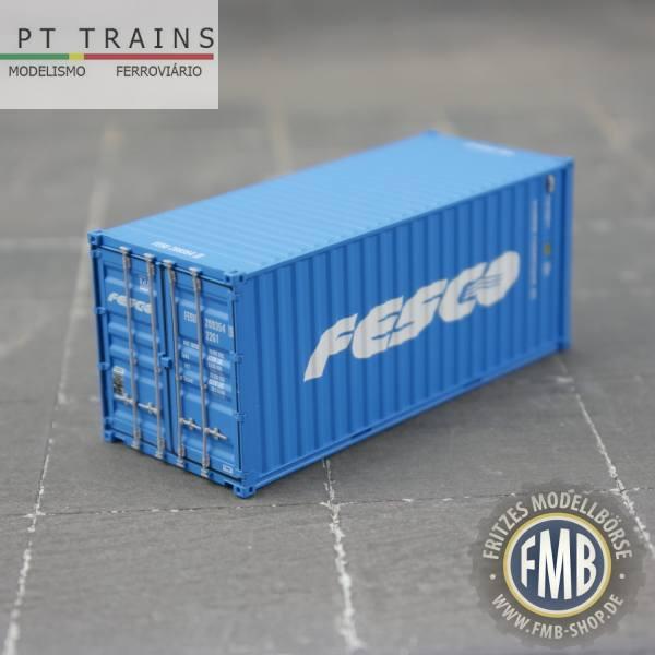 "820057 - PT-Trains - 20ft. Container ""Fesco - FESU2093541"""