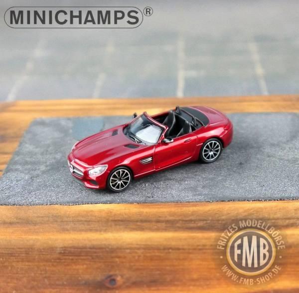 037134 - Minichamps - Mercedes-Benz AMG GT-S Roadster (2015), rot metallic