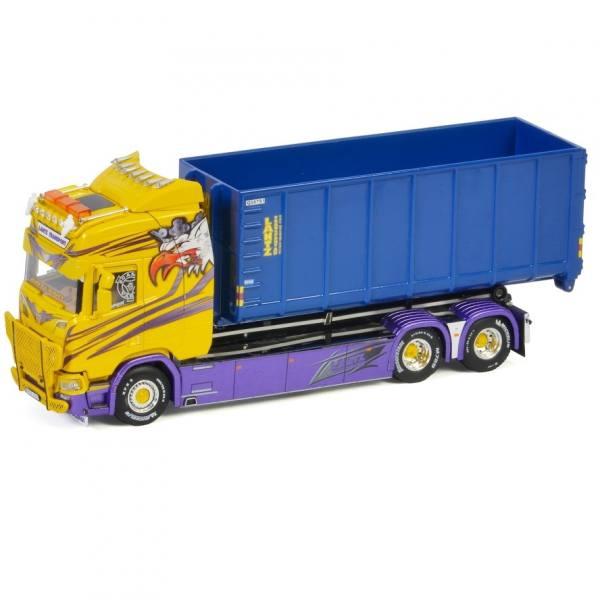 01-3245 - WSI - Scania CR HL 6x2 mit Hakenliftsystem und Container - Lantz Transport - S