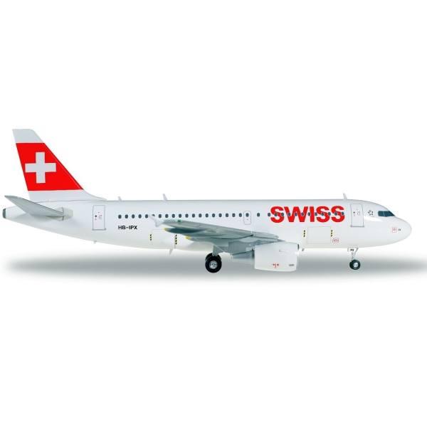 558020 - Herpa - Swiss International Airbus A319 - 1:200