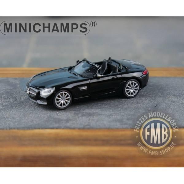 037131 - Minichamps - Mercedes-Benz AMG GT-S Roadster (2015), schwarz