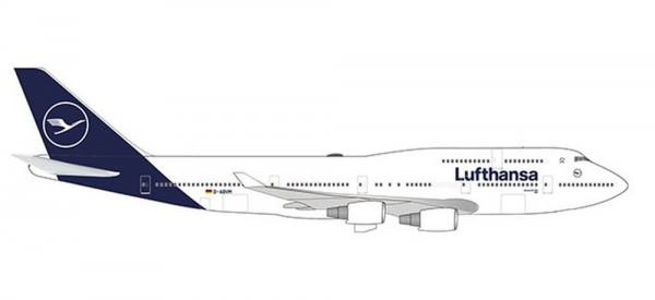 "532761 - Herpa - Lufthansa  Boeing 747-400 ""Kiel"" new colors - 1:500"
