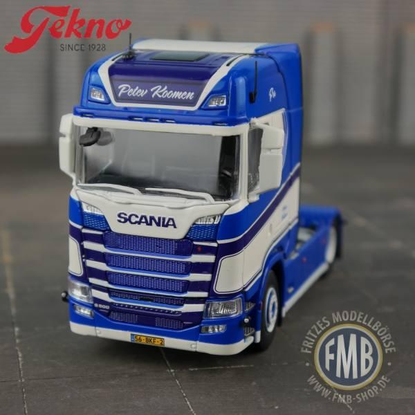 74082 - Tekno - Scania S500 4x2 2achs Zugmaschine - Peter Koomen - NL -