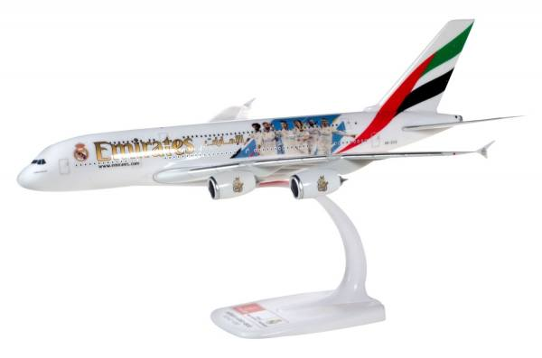 """612142 - Herpa - Emirates  Airbus A380 """"Real Madrid 2018"""" - 1:250"""