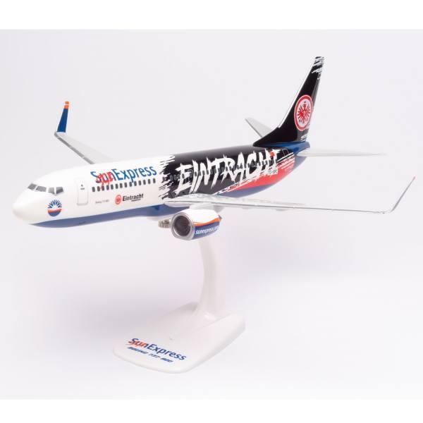 "613125 - Herpa Wings - Sun Express Boeing 737-800 ""Eintracht Frankfurt - SGE Express"""