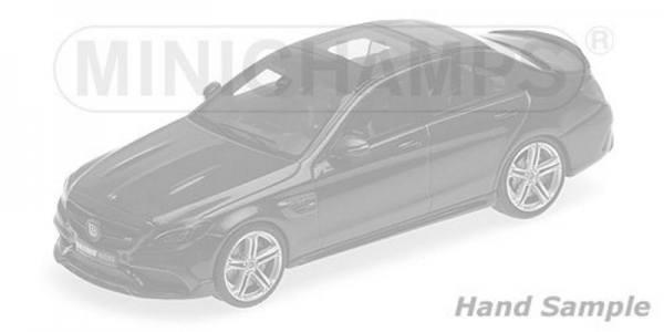 038601 - Minichamps - Brabus 600 auf Basis Mercedes-Benz AMG C 63 S (2015), silber