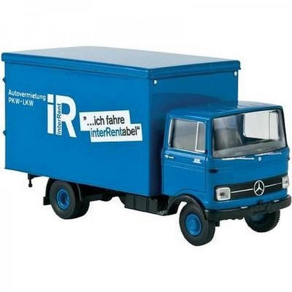 """94860 - Brekina - Mercedes-Benz LP 608 Koffer-LKW """"InterRent"""""""