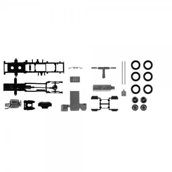 084826 - Herpa - TS Lowliner-Fahrgestell Scania CR/CS Zugmaschine, 2 Stück
