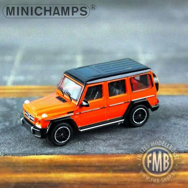037000 - Minichamps - Mercedes-Benz AMG G 65 (2015), orange metallic