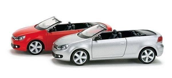 024860 - Herpa - VW Golf Cabrio, rot
