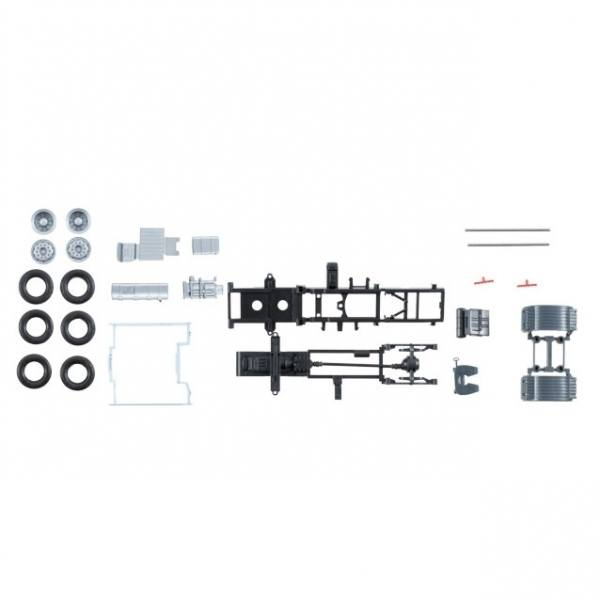 084178 - Herpa - TS Volvo FH4 Fahrgestell 4x2 Zugmaschine mit Verkleidung -2 Stück