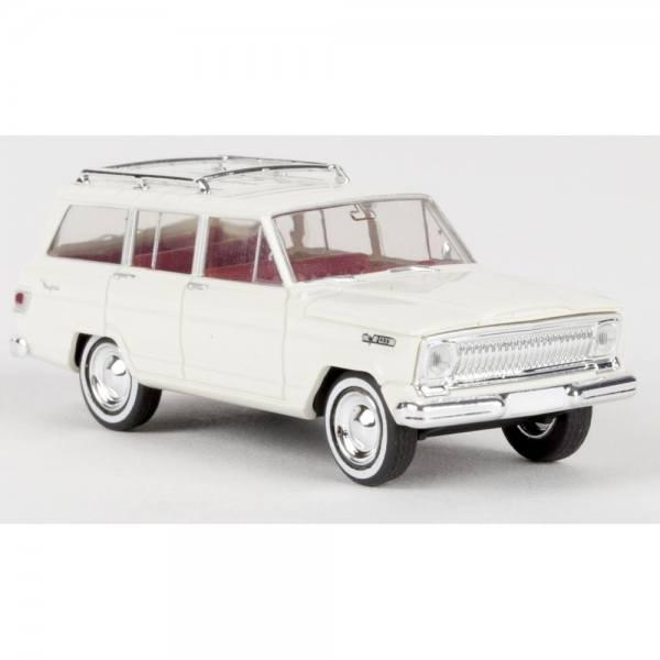 19851 - Brekina - Jeep Wagoneer (1966-1970) , weiß