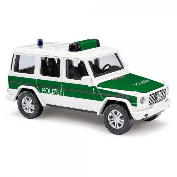 """51416 - Busch - Mercedes-Benz G-Klasse `90 Streifenwagen """"Bundesgrenzschutz"""""""