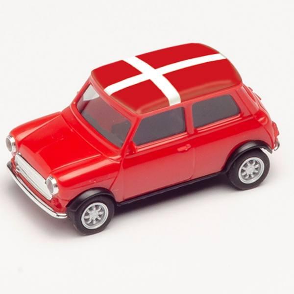 "420600 - Herpa - Mini Cooper, rot ""EM 2021 - Dänemark"""