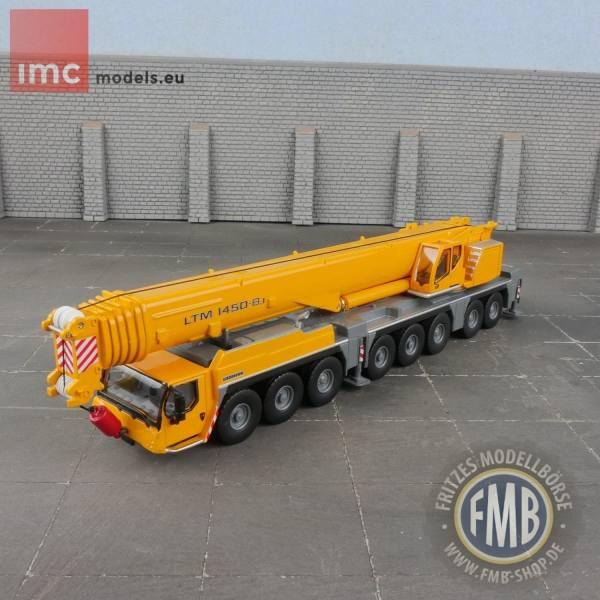 31-0134 - IMC - Liebherr LTM 1450-8.1 Mobilkran, gelb