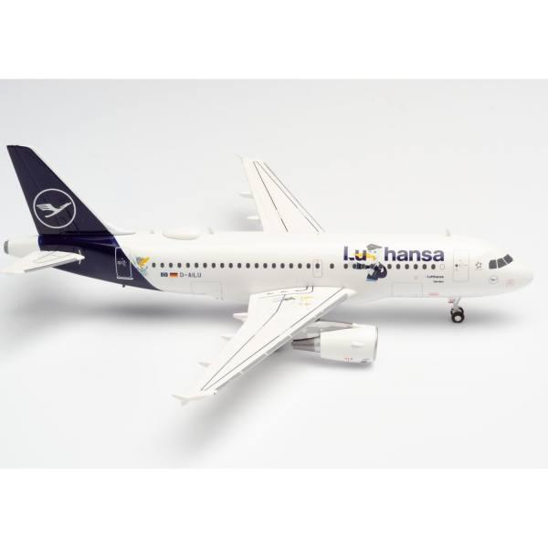 """570985 - Herpa - Lufthansa Airbus A319 """"LU"""" - """"Verden"""""""