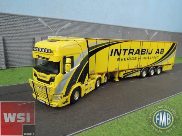 01-2415 - WSI - Scania S HL CS20H mit 3achs Thermoking Kühlauflieger - Intrabij AB - S -