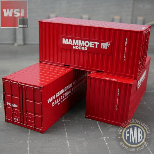 410251 - WSI - 3x 20ft. Container-Set - Mammoet