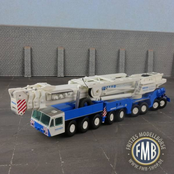 46580 - Kranlab - DEMAG AC1600 9achs Mobilkran - Breuer MaxiMum
