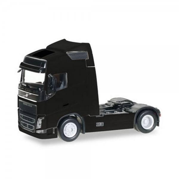 303767-004 - Herpa - Volvo FH Globetrotter Solo-Zugmaschine, schwarz