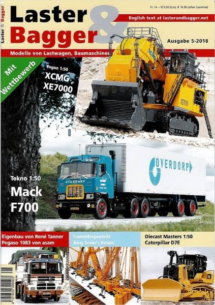 5-2018 - Zeitschrift Laster & Bagger - Ausgabe 5-2018