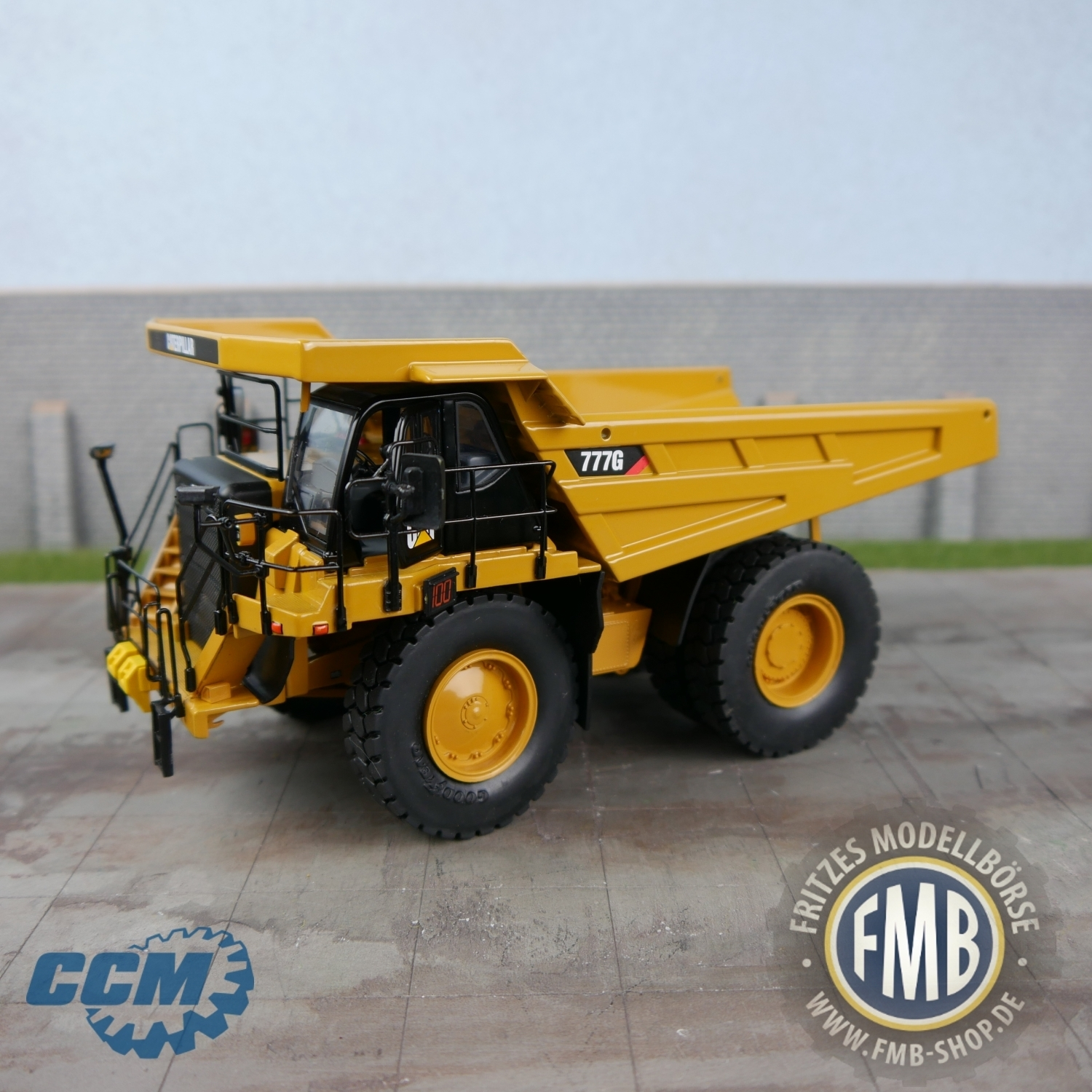 42180 - CCM - CAT 777G Off-Highway Truck / Dumper - 1:48