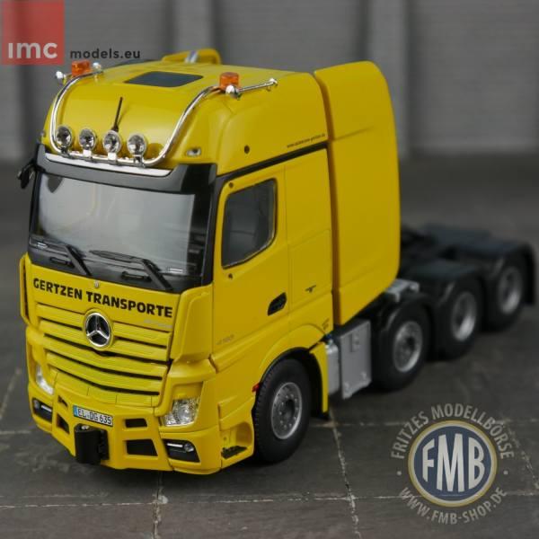 OVP IMC Models 33-0111 Gertzen Mercedes Benz Actros Gigaspace 8x4 NEU