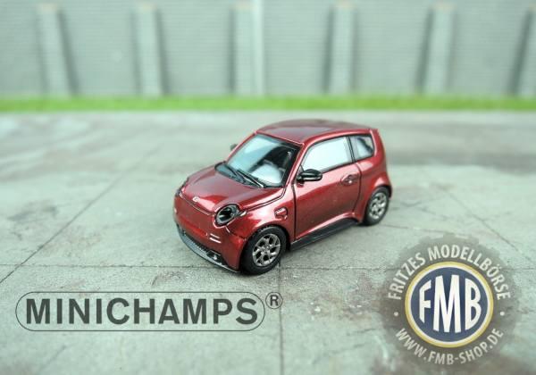 098100 - Minichamps - E.Go Life (2018) E-Mobility, rot metallic