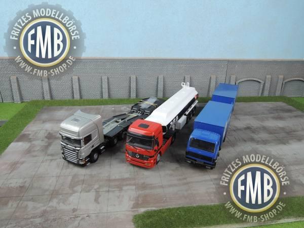 SON18 - 3 LKW Modelle - MB und Scania - ohne OVP und gebraucht!