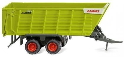 038199 - Wiking - Claas Cargos 750 Ladewagen mit Agrarbereifung