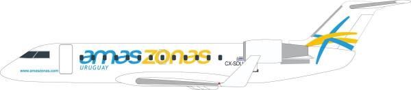 611541 - Herpa - Amaszonas Uruguay Bombardier CRJ-200 - 1:100