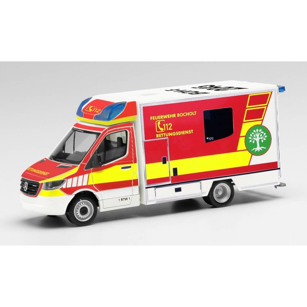 herpa 095440 Mercedes-Benz Sprinter 18 Fahrtec-RTW DRK Juist