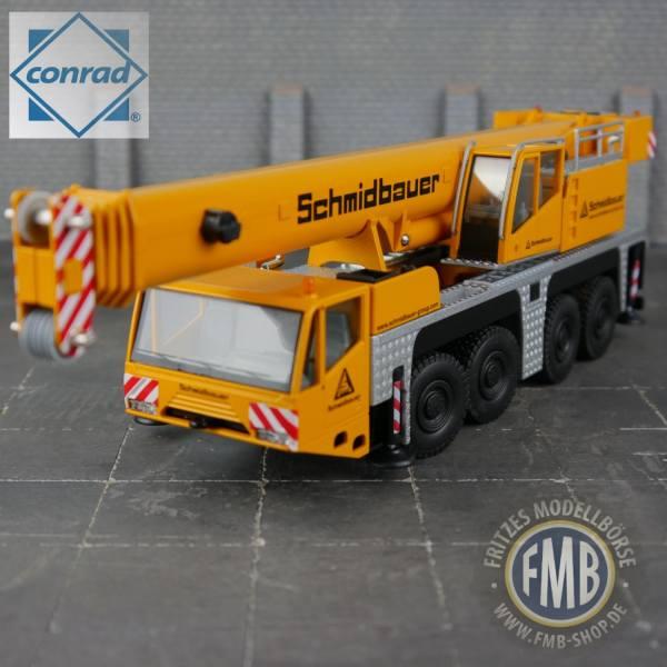 """2104/06 - Conrad - Terex-Demag AC 100/4 Mobilkran """"Schmidbauer"""""""
