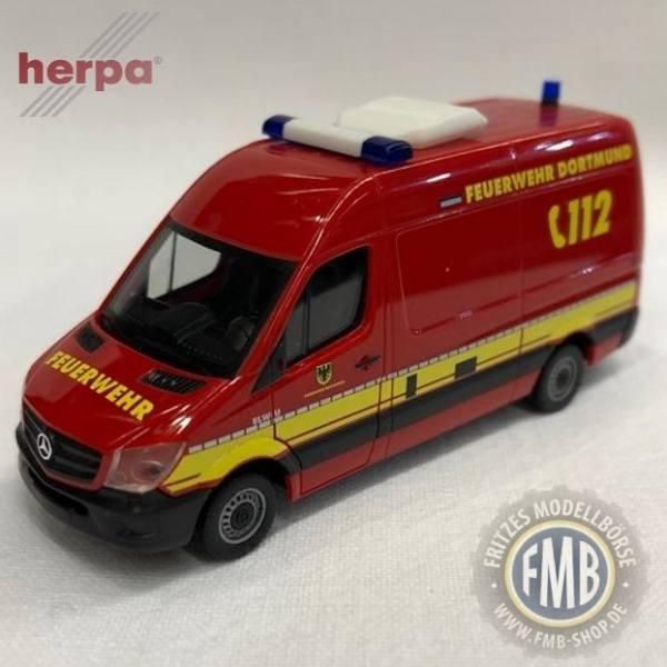 """936316 - Herpa - Mercedes-Benz Sprinter `13 Kasten """"Feuerwehr Dortmund / Umweltdienst"""""""
