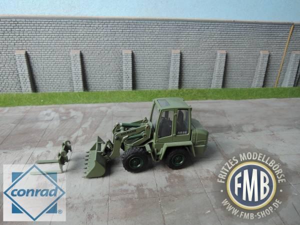 2431/0X - Ahlmann AS 90 Radlader mit Schwenkschaufel - Militär