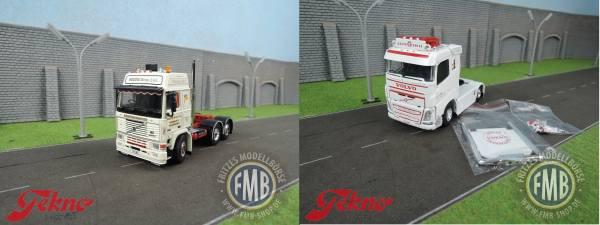 Tekno-Set - Volvo F16 6x2 - Beedie Bros - + Volvo FH4 4x2  - Fabian Kübler -