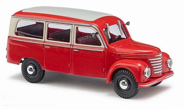 51250 - Busch - Framo V901/2 Bus rot   (Baujahr 1954) DDR