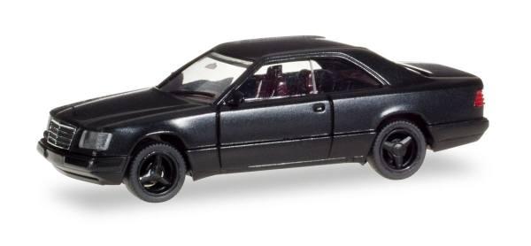 028813 - Herpa - Mercedes-Benz E 320 Coupé mit Brabus-Felgen, schwarz