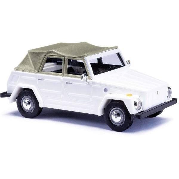 52700 - Busch -  VW 181 Kurierwagen `70, Verdeck geschlossen, weiß