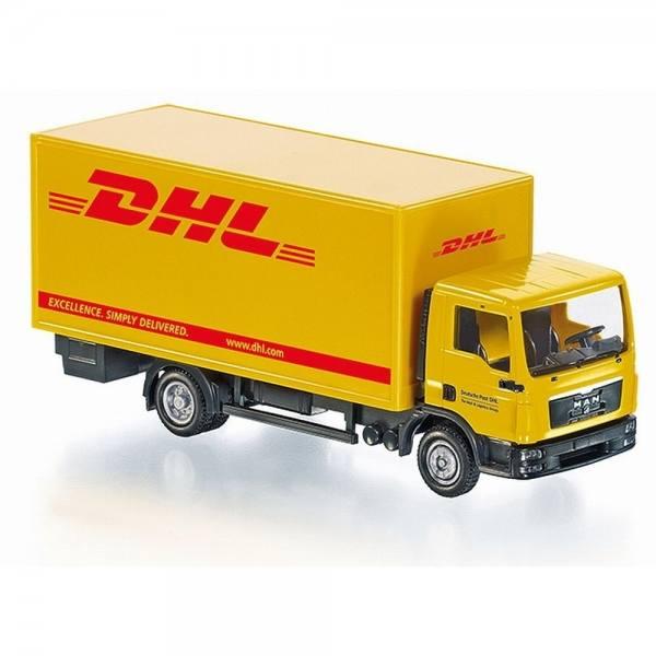 "077427 - Wiking - MAN TGL Koffer-LKW ""DHL"" - RC Modell - Control87"