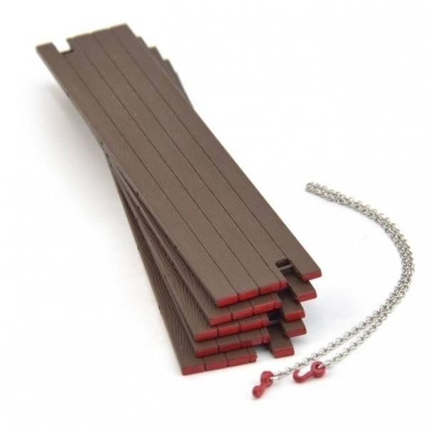33-0098 - IMC - Bagger Matratzen 5 Stück mit Kette und haken