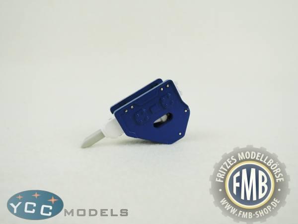 YC401-1B - YCC Models - Hammer für Baggermodelle in blau/weiß
