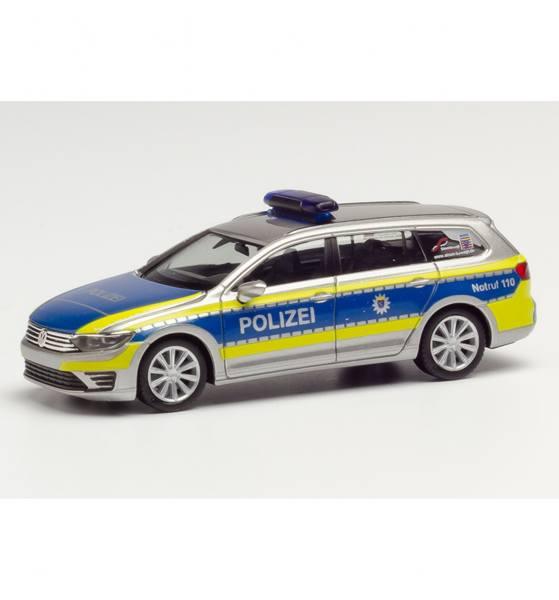 """095020 - Herpa - VW Passat Variant GTE Hybrid Funkstreifenwagen """"Polizei Hessen"""""""