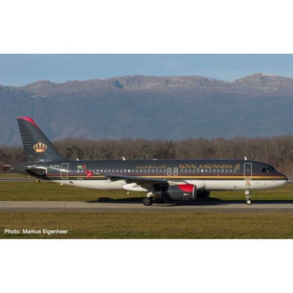 "533577 - Herpa - Royal Jordanian Airlines Airbus A320 ""Aqaba"""