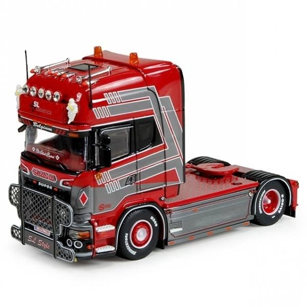 74912 - Tekno - Scania R-serie TL 4x2 2achs Zugmaschine - SL Logistics - B -